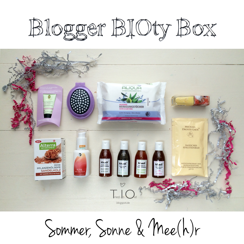 Blogger BIOty Box – Summer, Sun & Mee(h)r
