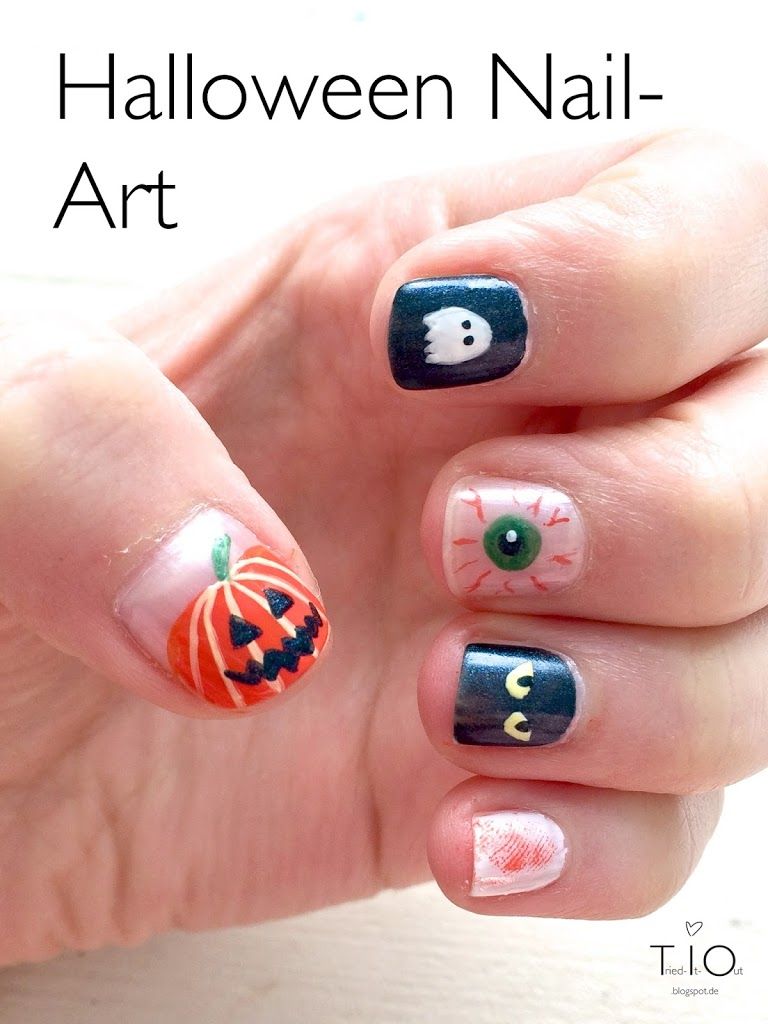 Von Kürbissen und Geistern - Halloween Nails 2014 - Tried-It-Out ...