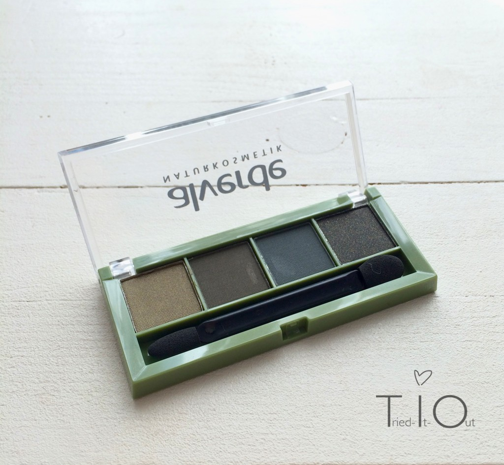 alverde eyeshadow dark temptation 2
