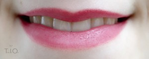 Secret red alverde lip liner Tragebild2