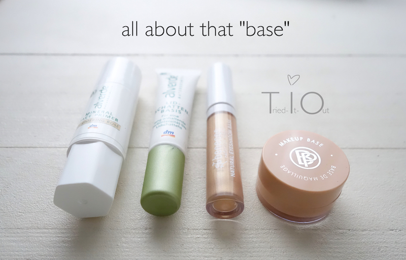 "all about that ""base"" – NK Lidschatten-Primer im Test"