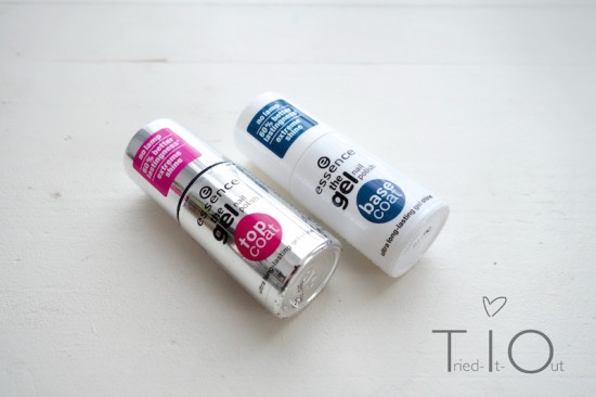 Essence The Gel Nail Polish - Top Coat und Base Coat