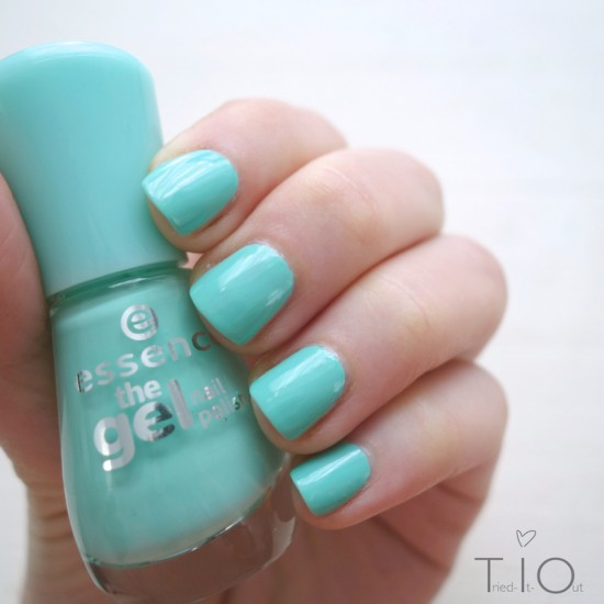 Essence The Gel Nail Polish - Play With My Mint
