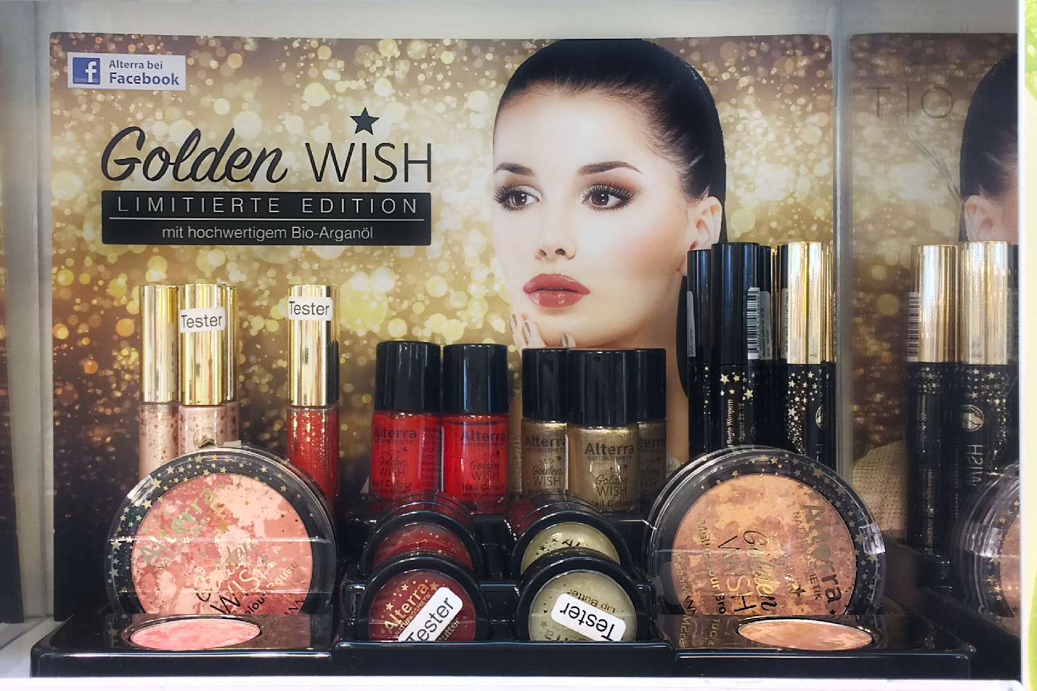 Alterra Golden Wish Limited Edition LE Aufsteller