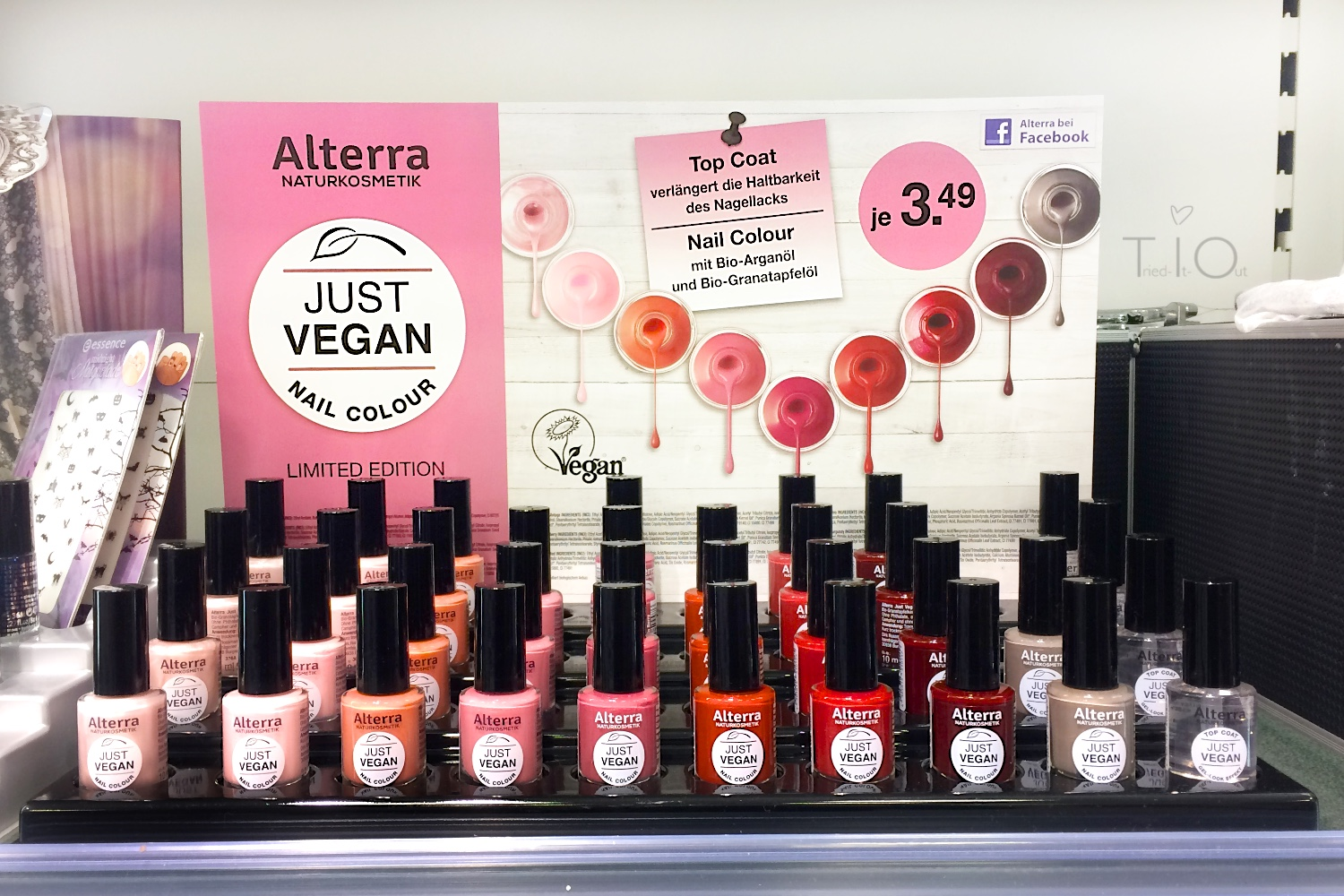 Alterra Just-Vegan Nagellack Limited Edition Farbauswahl