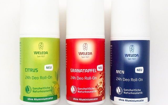 Weleda deodorants [Figuratively speaking]